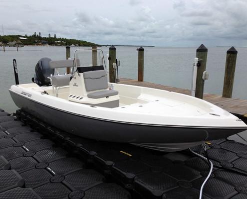 Gringo Charters Team Skeeter Boat